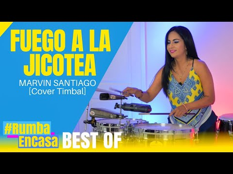 FUEGO A LA JICOTEA - MARVIN SANTIAGO - HD Audio [Cover Timbal)