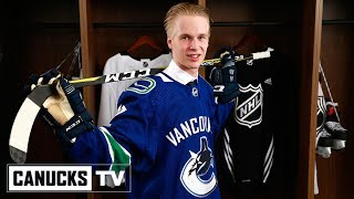Elias Pettersson Draft Day - All Access