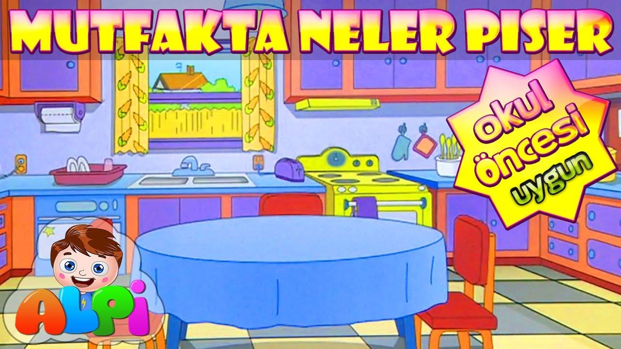 Mutfakta Neler Pişer Çocuk Şarkısı   Alpi ve Arkadaşları