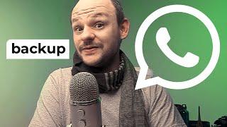 Como fazer Backup do WhatsApp Completo - Salvar Tudo Android e iPhone