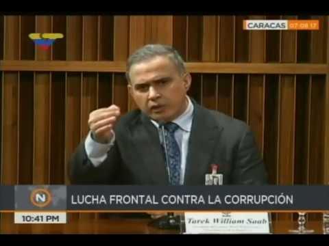 Tarek William Saab, 1era rueda de prensa COMPLETA desde el Ministerio Público