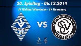 SV Waldhof Mannheim 07 vs. SV Elversberg  20. Spieltag 14/15