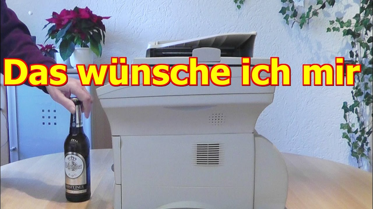 geschenk f r m nner zu weihnachten geburtstag valentinstag immer bier kopierer youtube. Black Bedroom Furniture Sets. Home Design Ideas