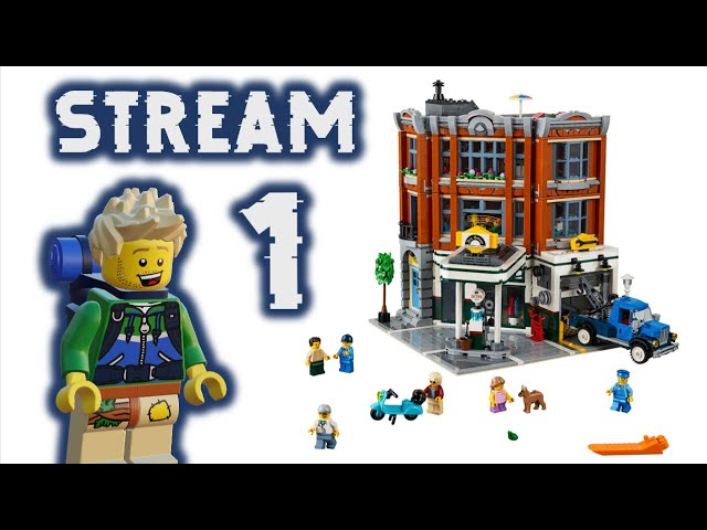 [Teil 1] Corner Garage Aufbau Stream & Talk (ft.Vic Bricks)