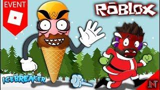 ROBLOX Indonesia #63 IceBreaker | Opponent Boss Icecream Demi mask Wolf