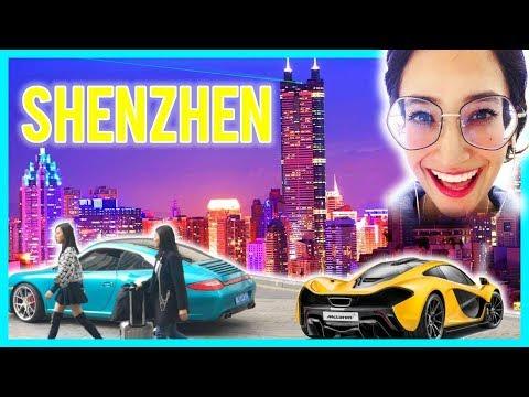 TOUR PRIVADO conmigo por SHENZHEN, China!