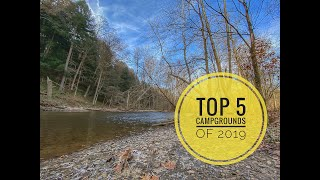Do you have a fav๐rite campground? Here are our Top 5 Ohio Campgrounds of 2019!