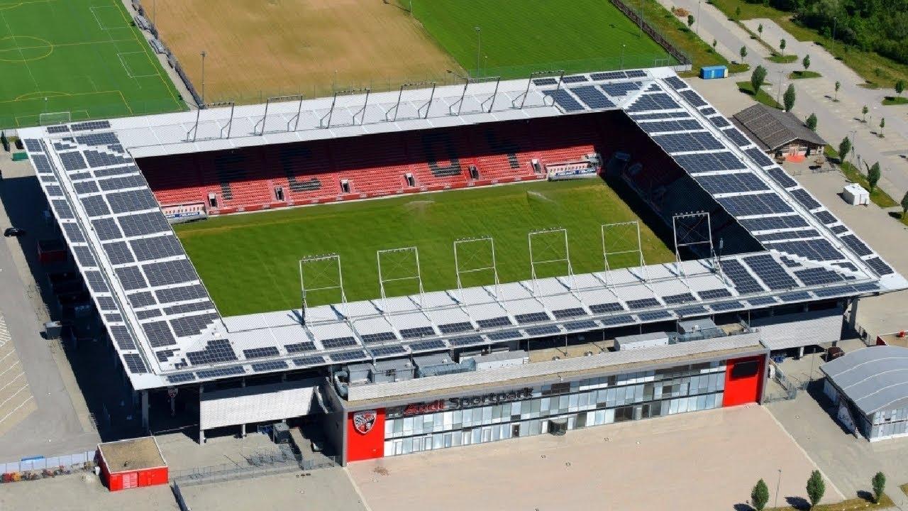 Audi Sportpark Ingolstadt Fc Stadium Youtube