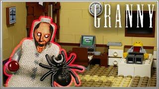 LEGO Мультфильм Granny 4 'Новая Жизнь' / LEGO Granny Stop Motion