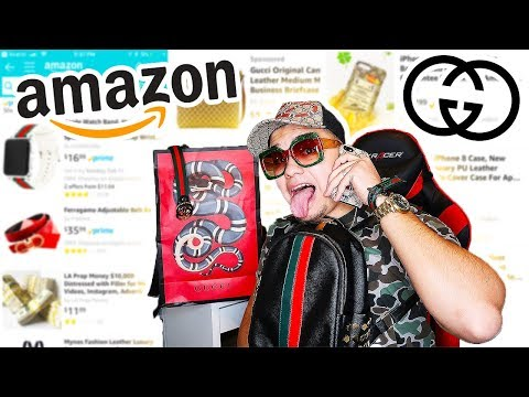 I BOUGHT $5000 WORTH OF GUCCI FROM AMAZON UNBOXING!! (GUCCI TRY-ON HAUL)