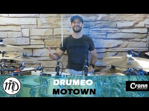 Motown - Drum Cover Drumeo (Soul/Pop) PEARL Maple Gum