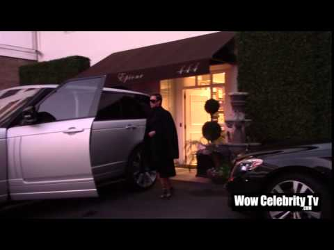 Kim Kardashian spotted at in Beverly Hills