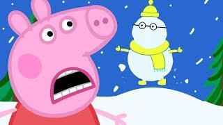 Peppa Pig en Español Episodios completos ❄️LA MONTAÑA NEVADA ❄️Pepa la cerdita