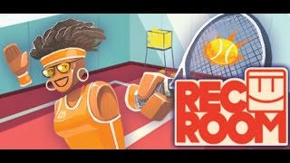 rec room htc vive social shenanigans and disc golf