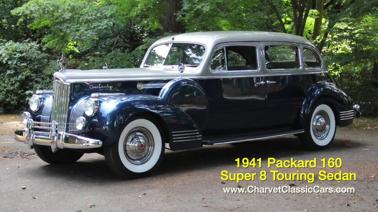 1941 Packard 160 Sedan For Sale Charvet Classic Cars Youtube Lincoln Town Car