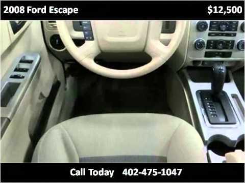 2008 Ford Escape Used Cars Lincoln Ne Youtube