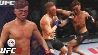 Doo Ho Choi Is A WARRIOR! HEAVY HANDS! EA Sports UFC 2 Online Gameplay