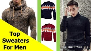 Top 50 best affordable sweater designs for men S4
