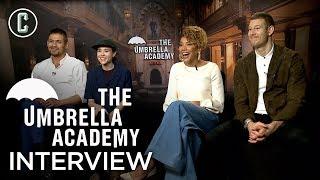 Umbrella Academy Cast Interview