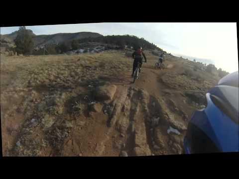 Mountain biking in Lyons Colorado