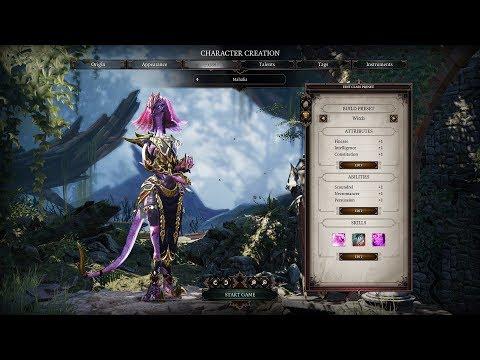 Divinity ii character creation