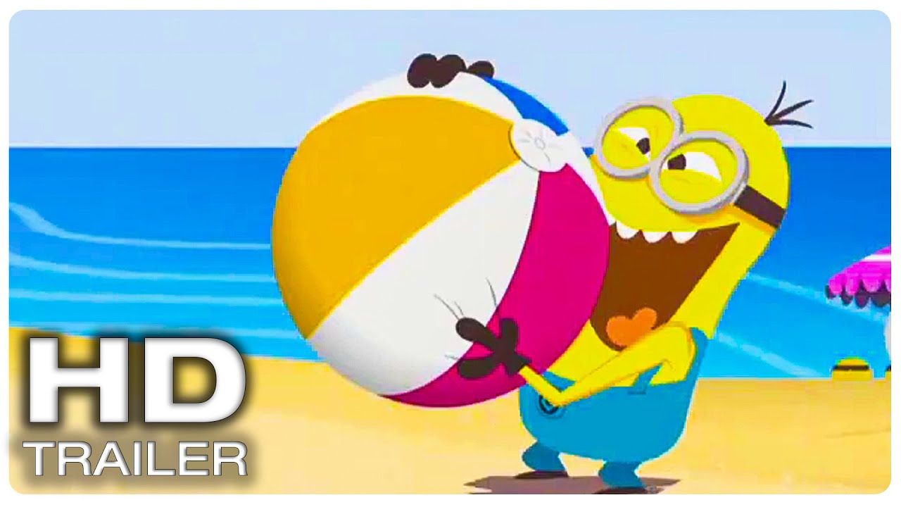 """SATURDAY MORNING MINIONS Episode 7 """"Beach Ball"""" (NEW 2021) Animated Series HD"""