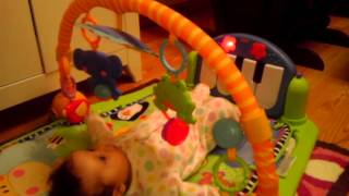 Natalie playing!