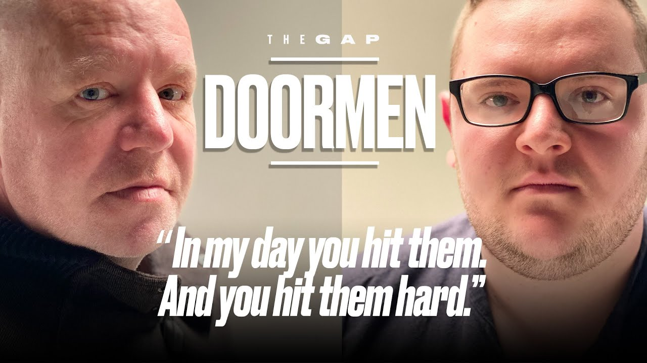Old Doorman Meets Young Doorman | The Gap | LADbible