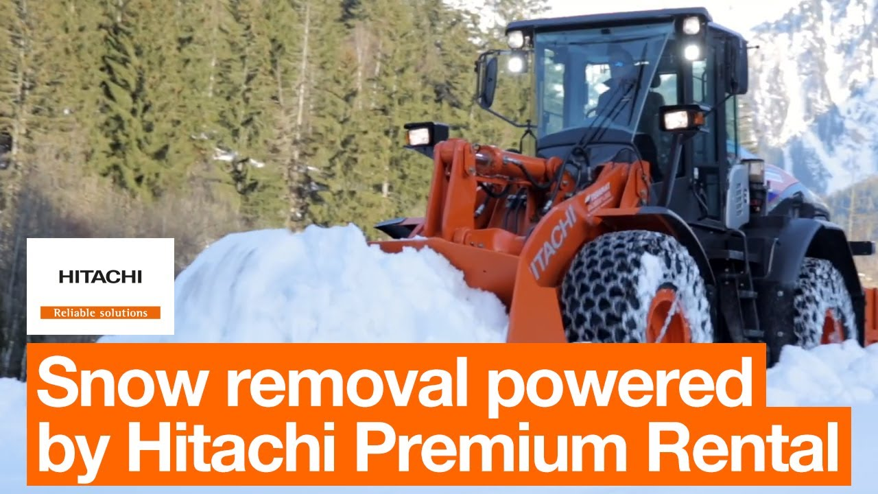 Hitachi Premium Rental offers added flexibility