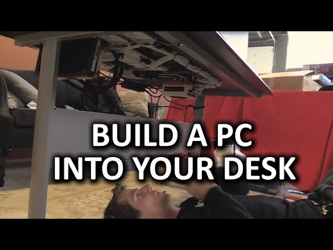 The ULTIMATE Space-Saving PC - Desk PC Build Log