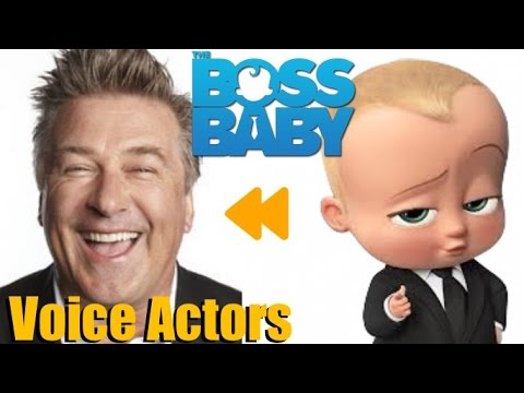 """""""The Boss Baby"""" (2017) Voice Actors and Characters"""