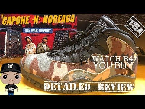 Air Jordan 10 Woodland Camo Retro Sneaker HONEST Detailed Review - WATCH THIS B4 U BUY THESE!