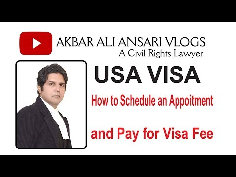 US Visa | DS 160 | How To Schedule An Appointment | Pay Visa Fee | 2019