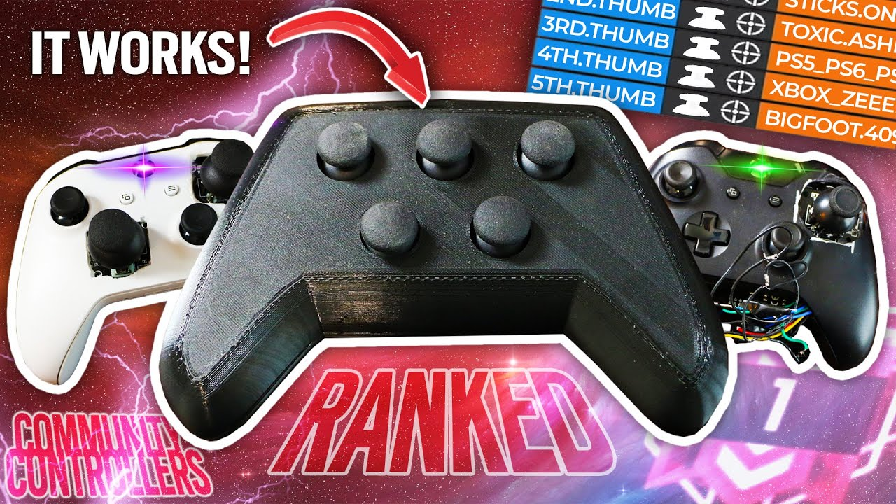 PLAYING RANKED R6 SIEGE WITH ONLY ANALOG STICKS - Crappy Controllers