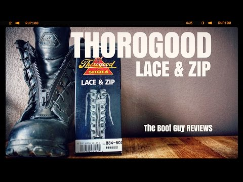 THOROGOOD LACE AND ZIP #884-6001 [ The Boot Guy Reviews ]