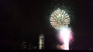 Fireworks, at Liberty State Park in Jersey City