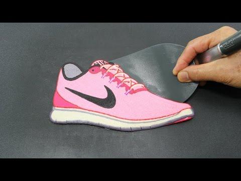 Barbie's Pink Nike Sneakers PANCAKE - Barbie Fashion