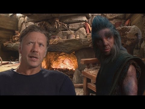 The Hobbit: Beorn's House  Exclusive Content With Mikael Persbrandt  Beorn Himself