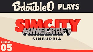 "SimCity in Minecraft! ""Simburbia""  - The Great Flood of 2014"