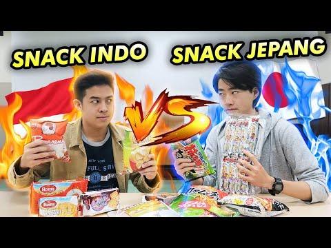 SNACK INDONESIA VS SNACK JEPANG! ENAKAN MANA?