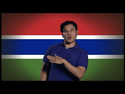 Flag Friday! The GAMBIA (Geography Now)