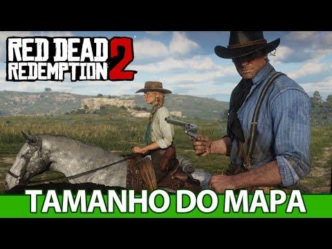 Red Dead Redemption 2 - TAMANHO do MAPA, trailer e a história