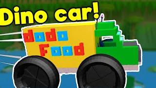 House Build Ep.12: Dino Car! - ROBLOX Build a Boat