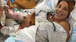 'America's Next Top Model' Alum Lisa Marie D'Amato Gives Birth, Streams