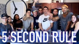 5 second rule drinking game