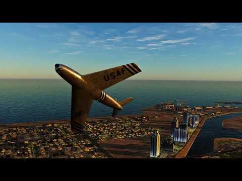 DCS WORLD 2.5.2  Persian Gulf Map! & Dubai!  Ft, The F-86F with ReShade 3.3.2