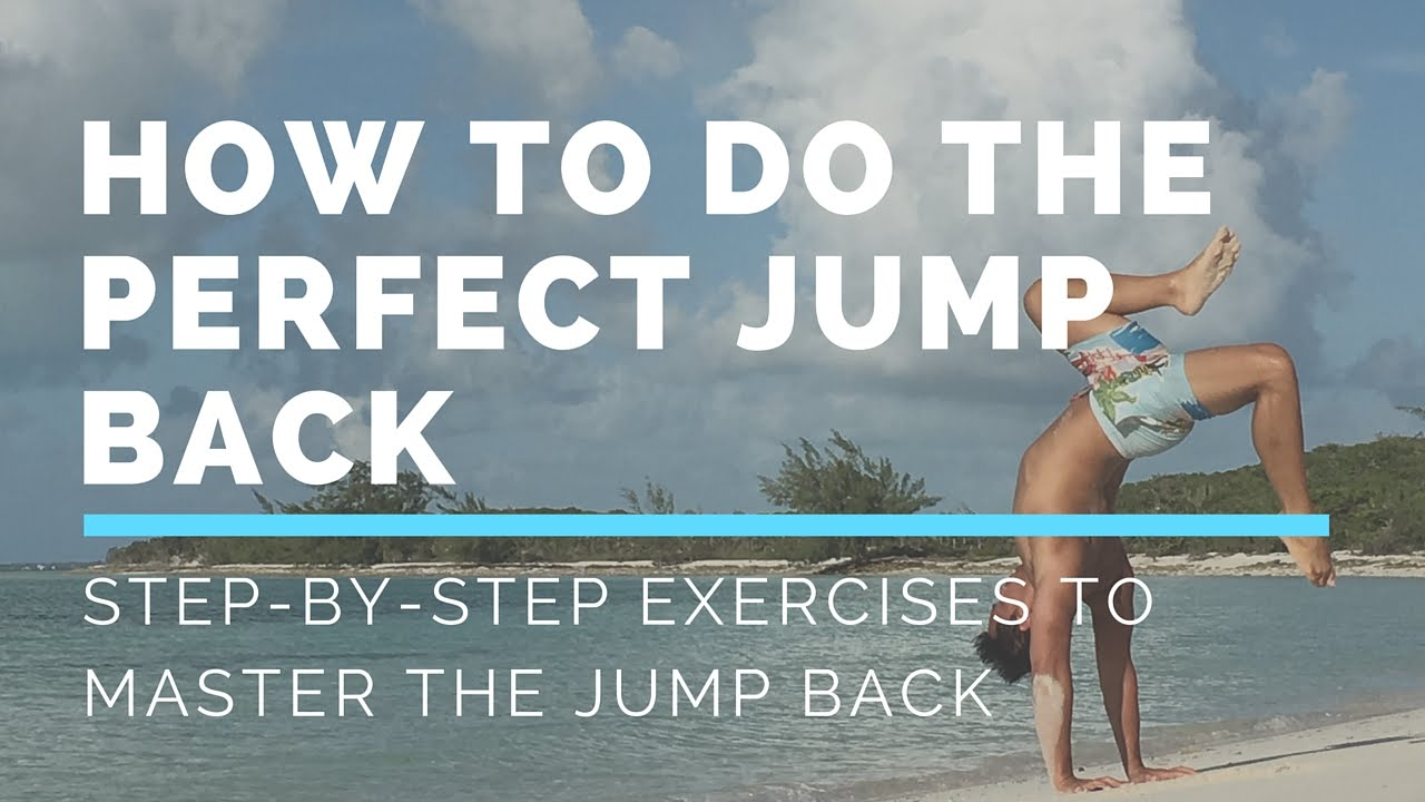 how to do back jump