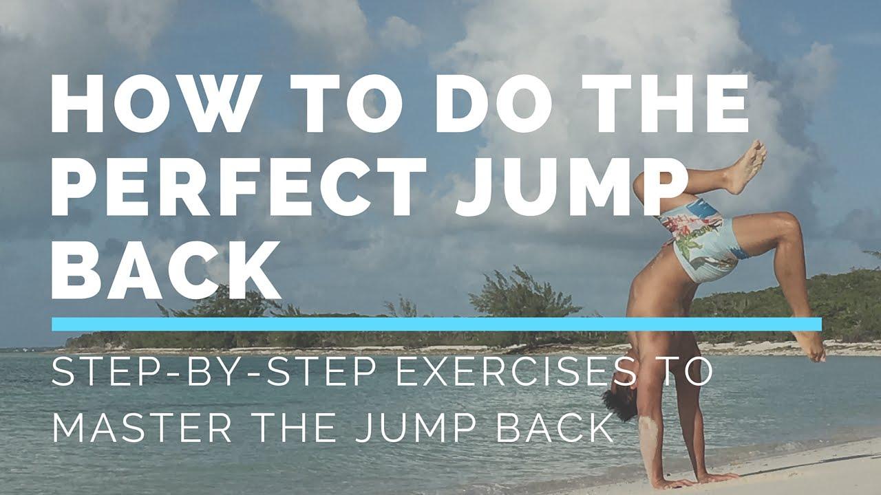 How to do an Ashtanga Jump Back - YouTube