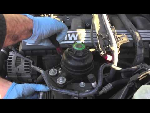 Bmw Removing Intake Manifold Replacing Crankshaft Sensor E90 E91 E92 E93 Youtube