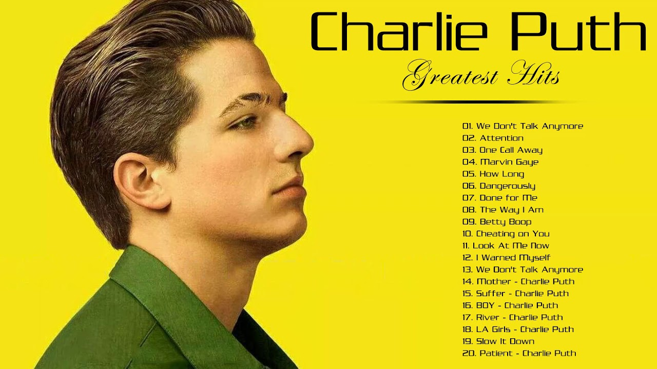 Download Charlie Puth Greatest Hits Full Album 2020   Charlie Puth Best Songs